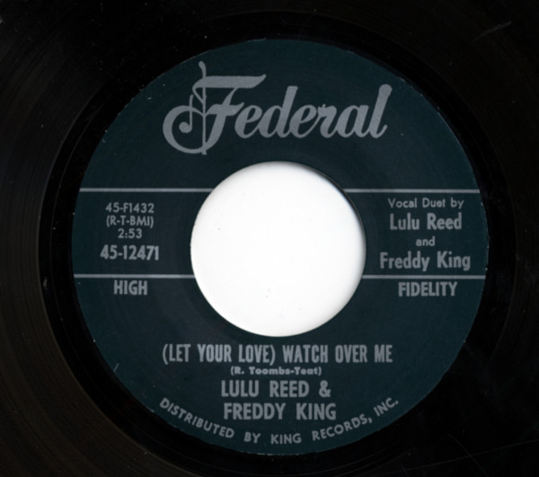 (Let Your Love) Watch Over Me b-w You Can't Hide 7inch, 45rpm