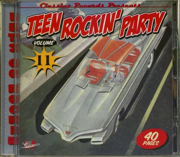 Teen Rockin' Party Vol.11 (CD)