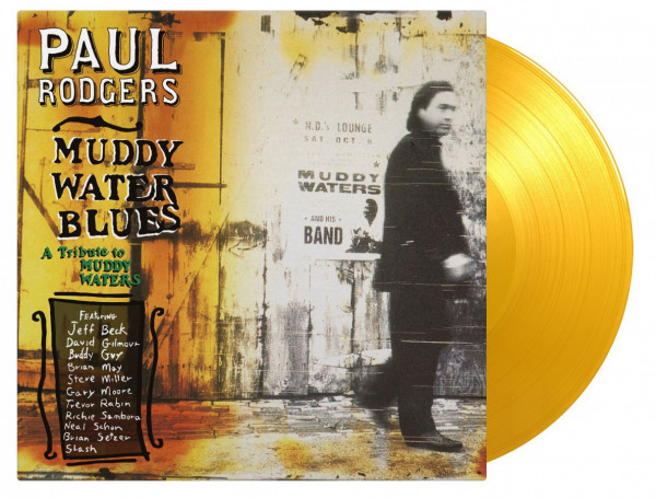 Muddy Waters Blues - A Tribute To Muddy Waters (2-LP, 180g Yellow Vinyl, Ltd. & Numbered)