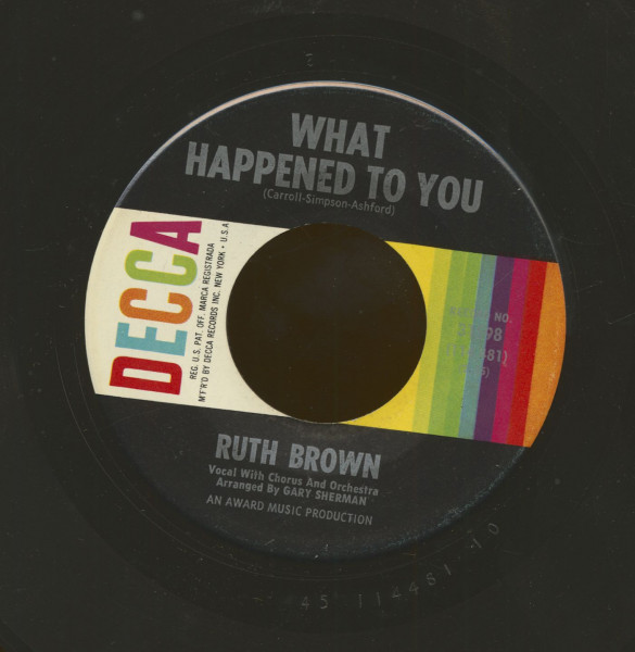 What Happened To You - Yes Sir That's My Baby (7inch, 45rpm)