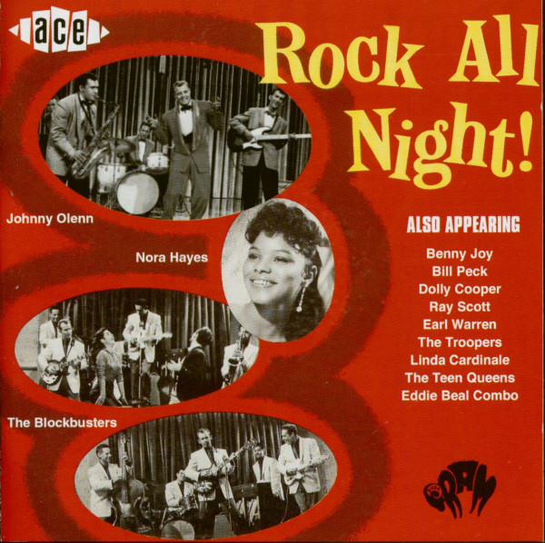 Rock All Night! (CD)