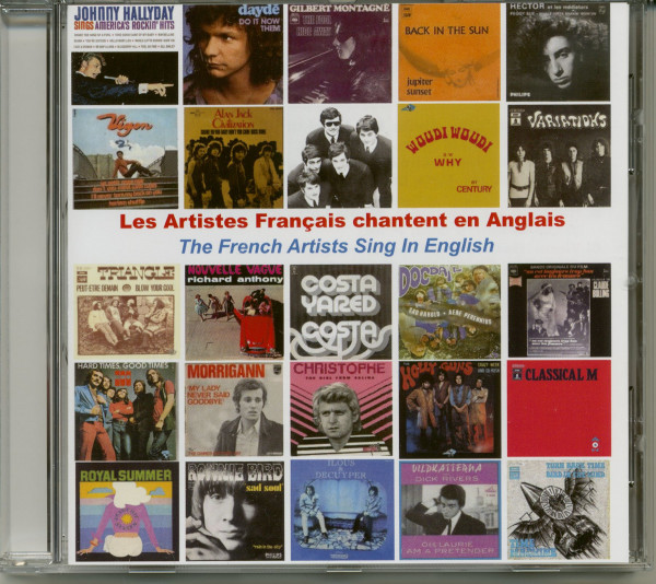 Les Artistes Francais Chantent En Anglais (CD)