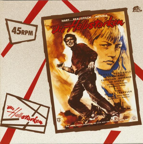 Die Halbstarken - Teenage Wolfpack (12inch EP, 45rpm)