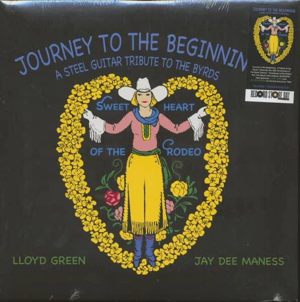Journey To The Beginning - A Steel Guitar Tribute To The Byrds (LP, 180g, RSD)
