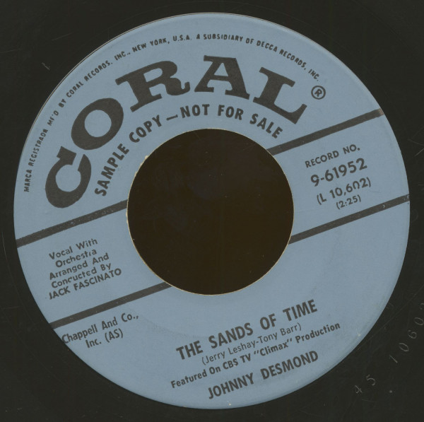 The Sands Of Time - The Jealous Boy Friend (7inch, 45rpm, BC)