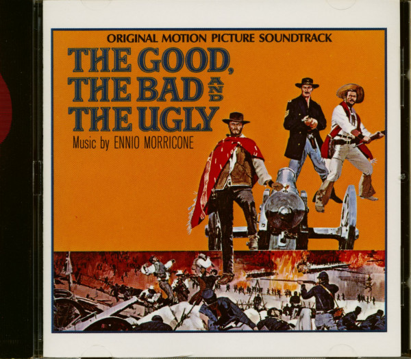 The Good, The Bad & The Ugly - Soundtrack (CD)