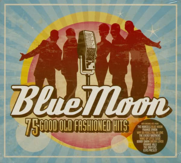 Various CD: Blue Moon - 75 Good Old Fashioned Hits (3-CD