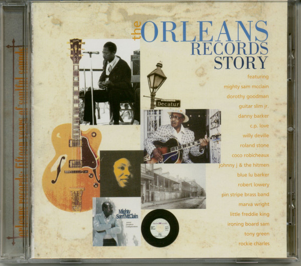 Orleans Records Story (CD)