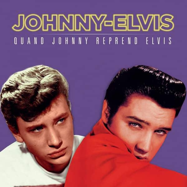 Quand Johnny Reprend Elvis (LP, 180g Vinyl, Ltd., Colored Vinyl)
