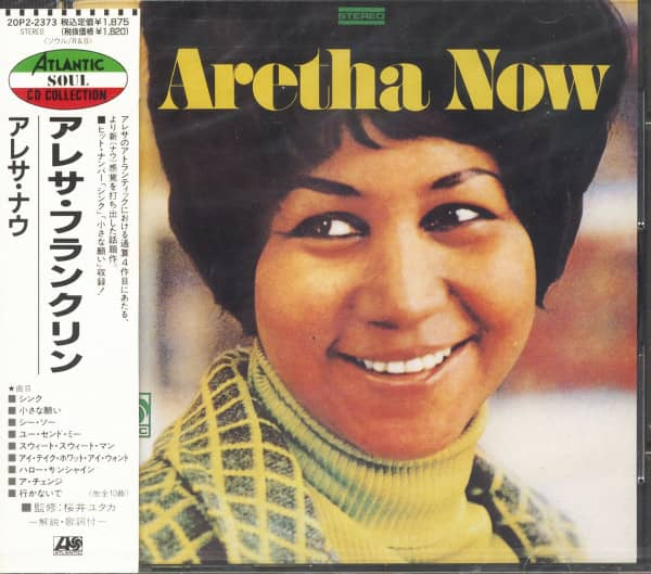 Aretha Now (CD, Japan)