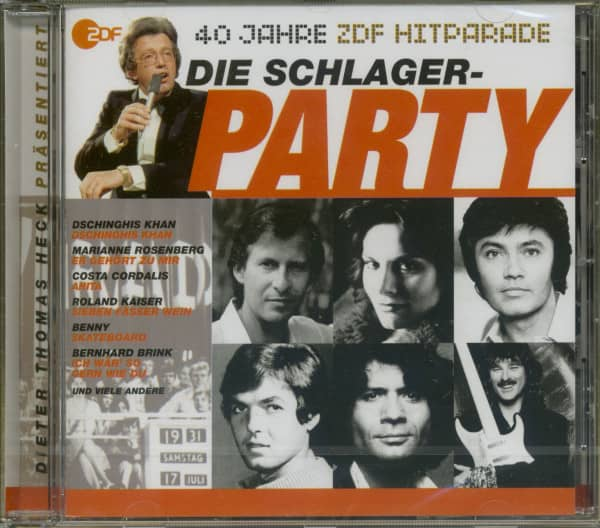 Schlager Party-ZDF Hitparade Jubiläums Serie