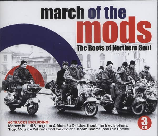 March Of The Mods - The Roots Of Northern Soul (3-CD)