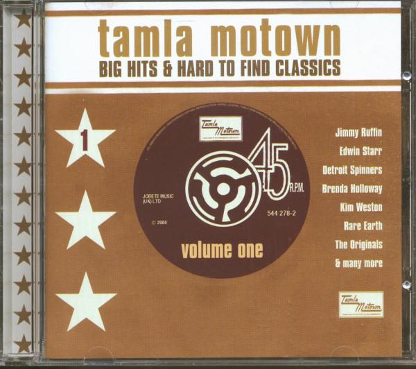 Tamla Motown - Big Hits & Hard To Find Classics (CD)
