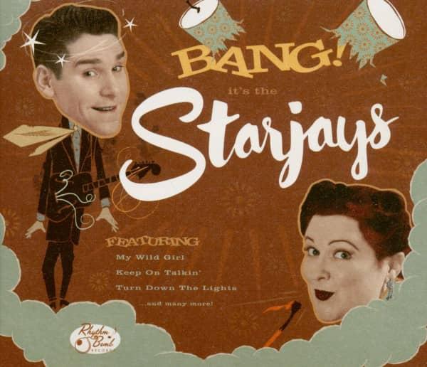 Bang! It's The Starjays (CD)