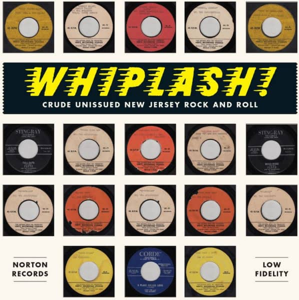 Whiplash! - Crude Unissued New Jersey Rock'n'Roll (LP)