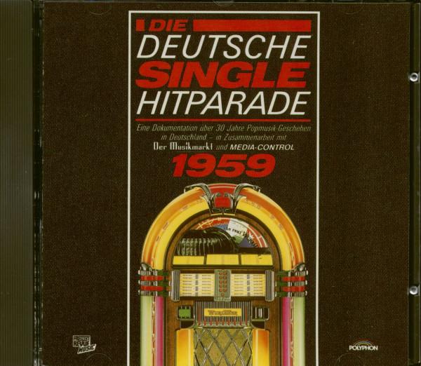 Die Deutsche Single Hitparade 1959 (CD)