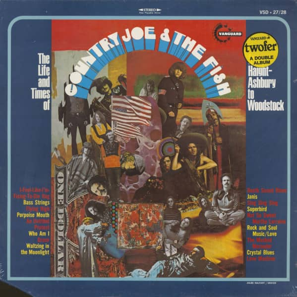 The Life And Times Of ... - From Haight-Ashbury To Woodstock (LP)