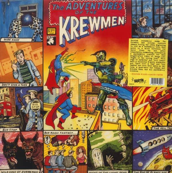 The Adventures Of The Krewmen (LP)