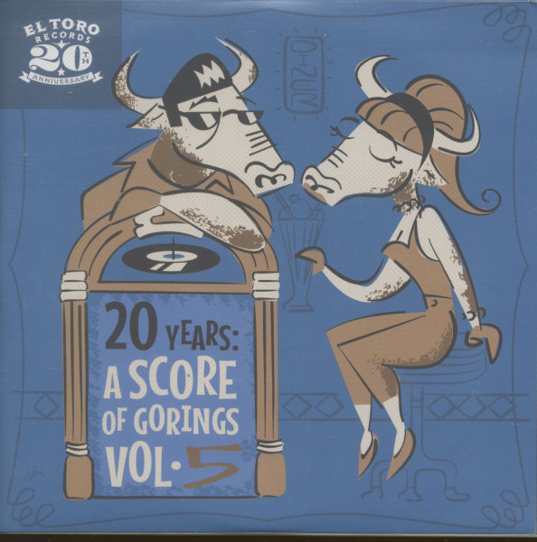 20 Years - A Score Of Gorings, Vol.5 (EP, 7inch, 33rpm, PS, sc)
