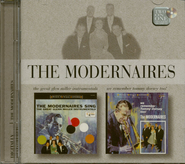 Sing The Great Glenn Miller Instrumentals -We Remember Tommy Dorsey Too! (CD)