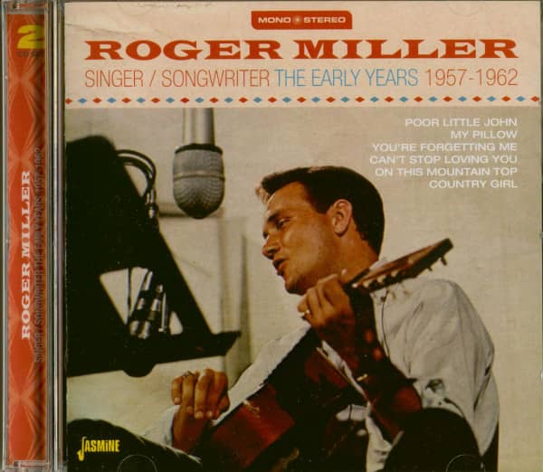 Singer, Songwriter - The Early Years 1957-1962 (2-CD)