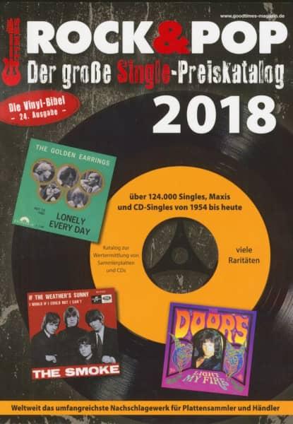 Der große Rock & Pop Single Preiskatalog 2018
