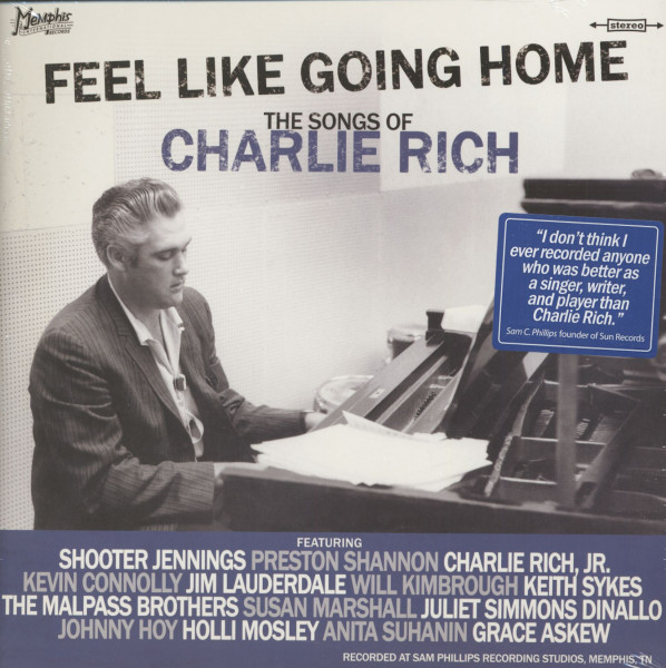Feel Like Going Home - The Songs Of Charlie Rich (LP)