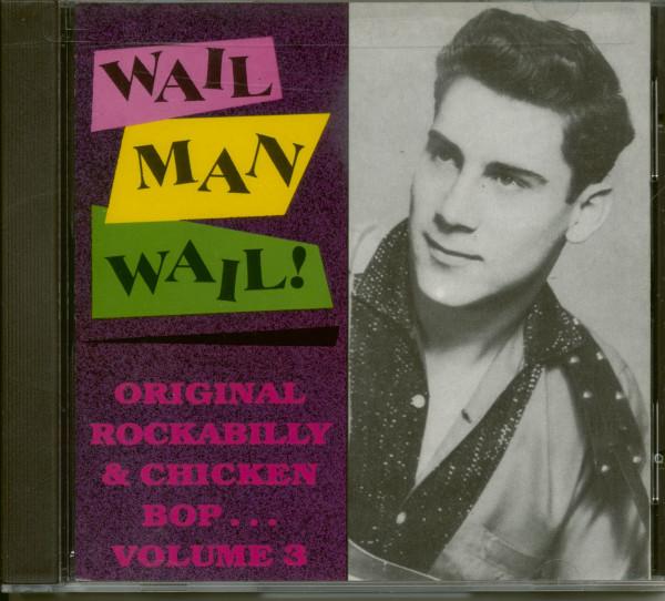 Wail Man Wail - Challenge Rockabilly (CD)
