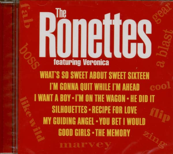 The Ronettes Featuring Veronica (CD)