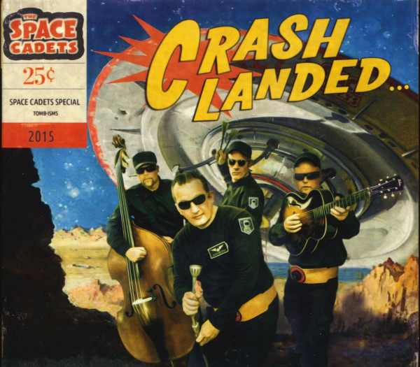 Crash Landed (CD)