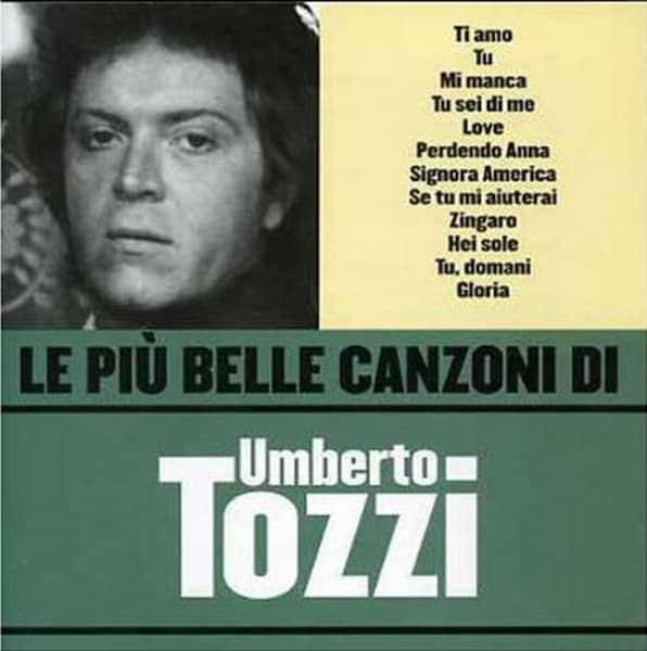 Le Piu Belle Canzoni Di Umberto Tozzi (CD)