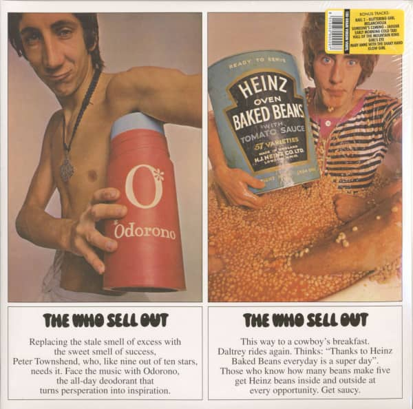 The Who Sell Out (1967-plus, 2-LP, 180g Vinyl)