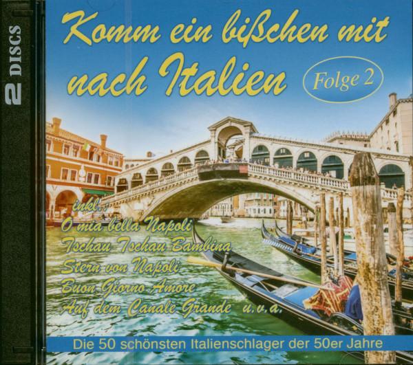 Komm ein bißchen mit nach Italien Folge 2 (2-CD)