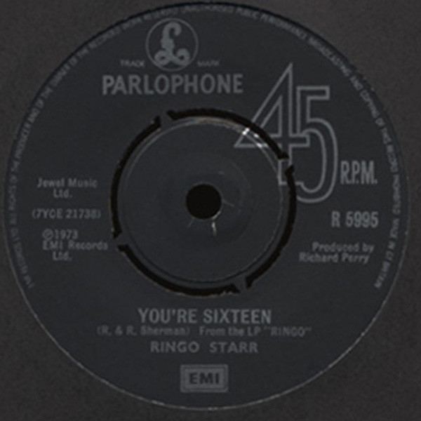 You're Sixteen - Devil Woman 7inch, 45rpm, SC