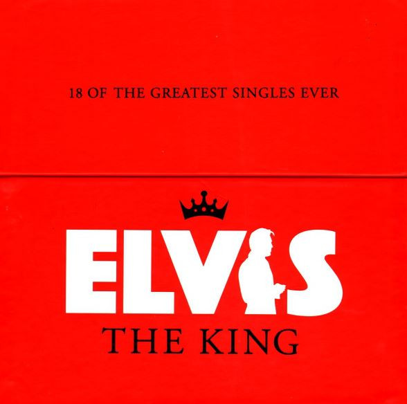 Elvis The King - 18 Of The Greatest Singles Ever (18x10inch Vinyl Box, 45rpm, CS, Ltd.)