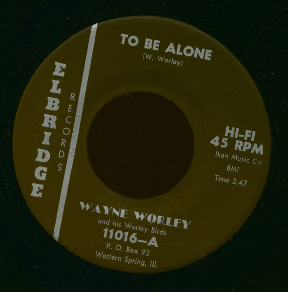 To Be Alone - Red Headed Woman (7inch, 45rpm)