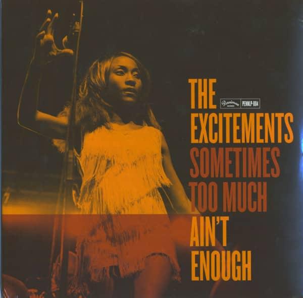 Sometimes Too Much Ain't Enough (LP, 180 Gram Vinyl)