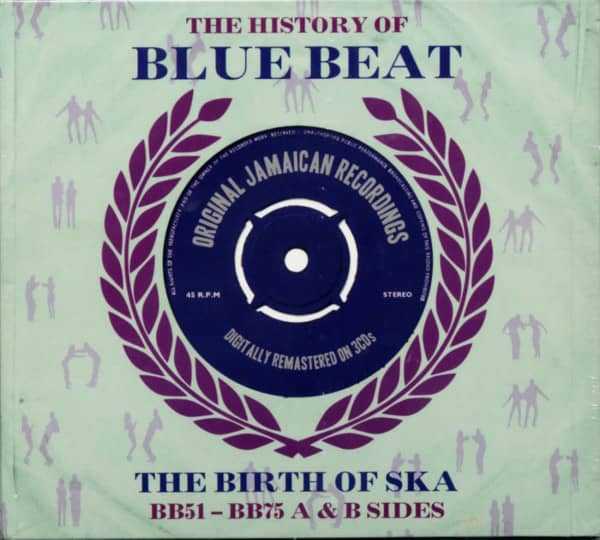 History Of Blue Beat - The Birth Of Ska Vol.2 BB51-BB75 (3-CD)