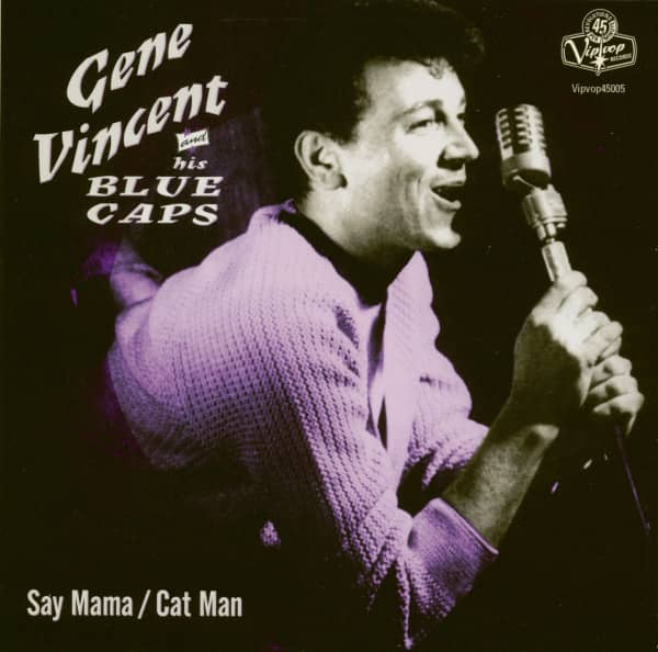 Say Mama - Cat Man (7inch, BC, 45rpm, Ltd.)