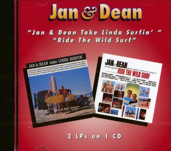 Take Linda Surfin'& Ride The Wild Surf (CD)