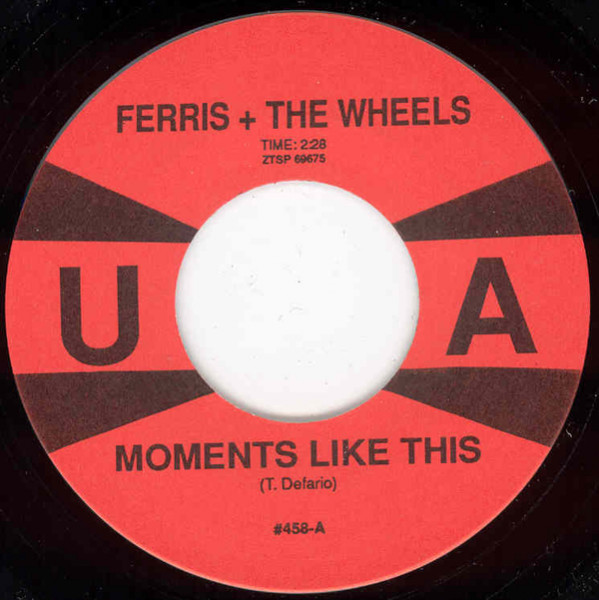 Moments Like This b-w He Was A Fortune Teller 7inch, 45rpm