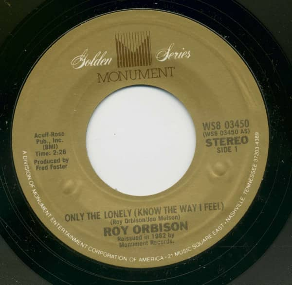 Only The Lonely (Know How I Feel) - Uptown (7inch, 45rpm, BC)