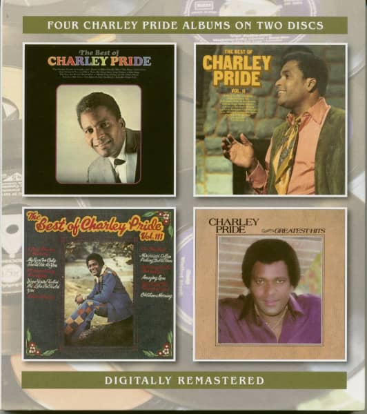 The Best of Charley Pride Vol.1-3 & Greatest Hits (2-CD)