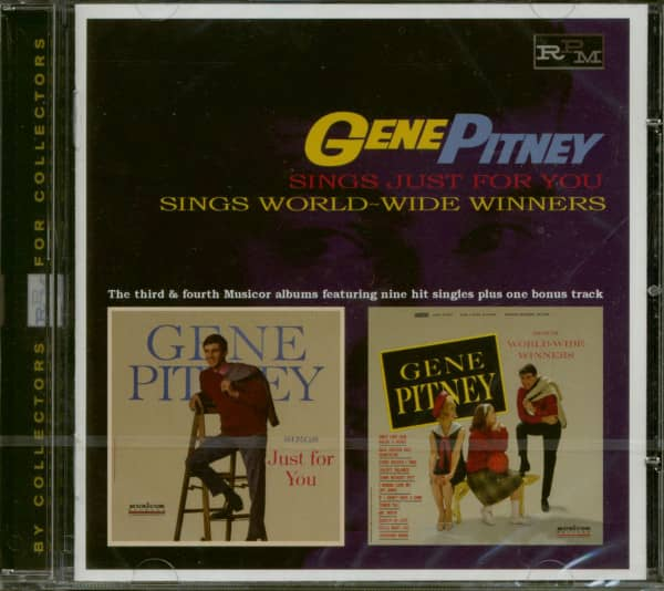 Sings Just For You - Sings World Wide Winners (CD)