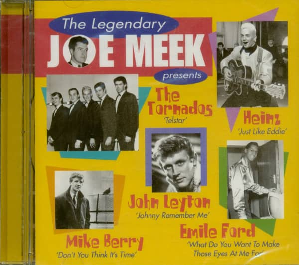 The Legendary Joe Meek Presents (CD)