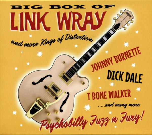 Big Box Of Link Wray & More Kings Of Distortion (6-CD)