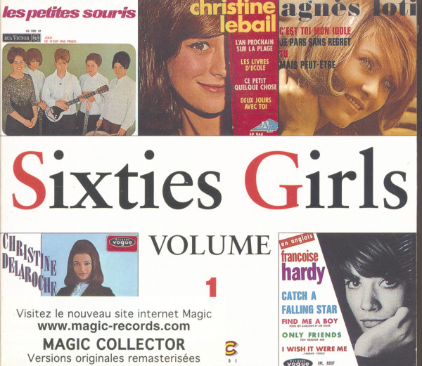 Sixties Girls Vol.1 - EP Collection (CD)