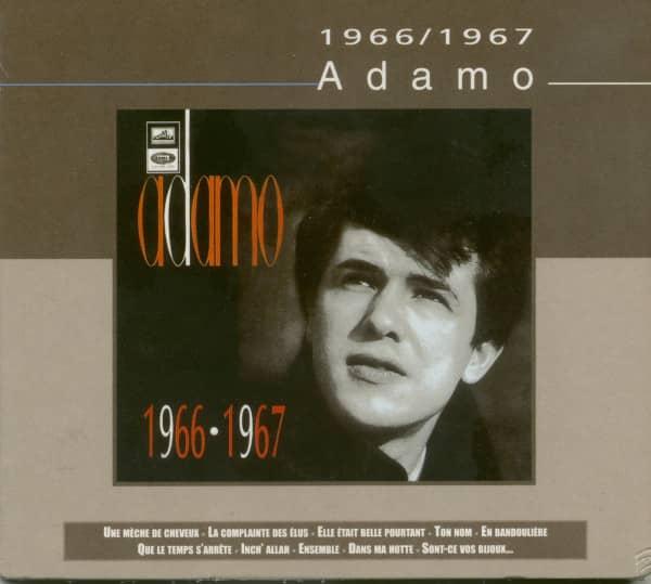 Adamo 1966 - 1967 (CD)