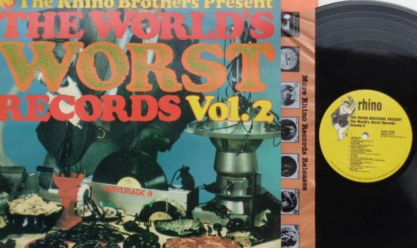 The World Worst Records Vol.2 (LP)