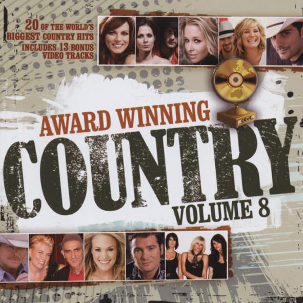 Vol.8, Award Winning Country (CD&DVD)